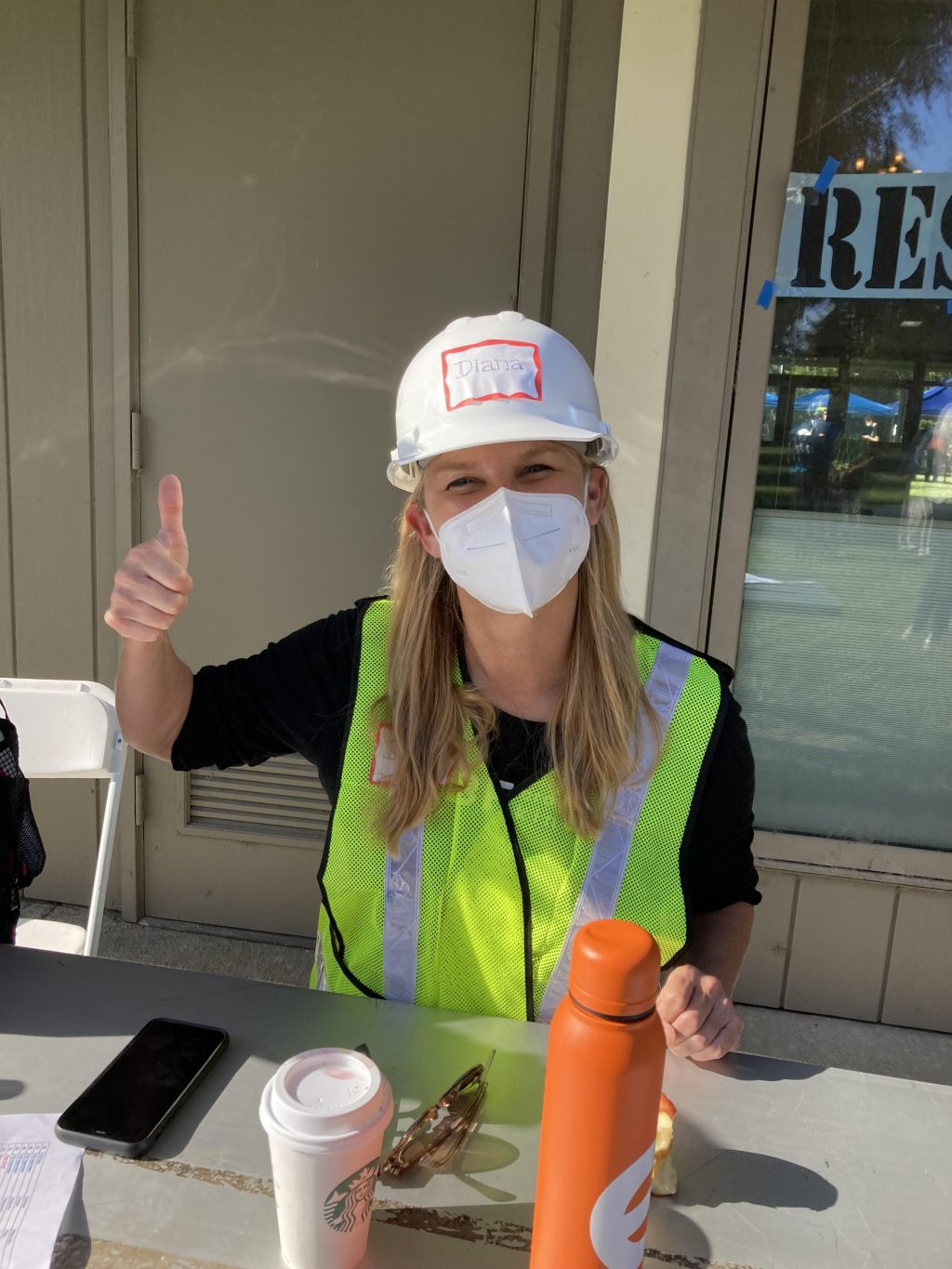 Diana Participated in an emergency readiness event for the city of Atherton